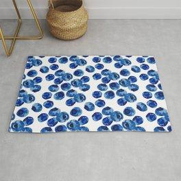 Blueberry print Rug