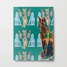 Miu... ('Cat' in old Egyptian) Metal Print