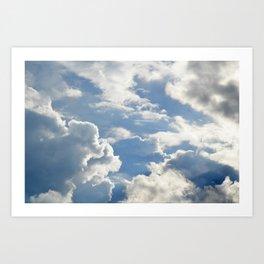 Cloudscape One Art Print