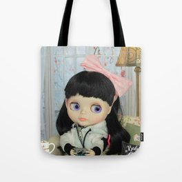 Winter, cold and windy day Tote Bag