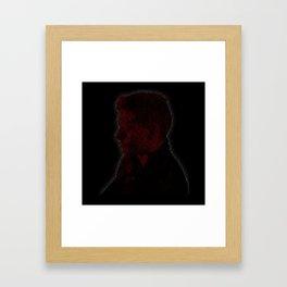 Carry On Dean Winchester Framed Art Print