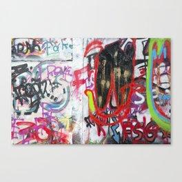 Colorful Graffiti Canvas Print