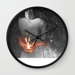 I would light you up. Wall Clock