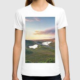 Vanishing Lakes,Ireland,Northern Ireland,Ballycastle T-shirt