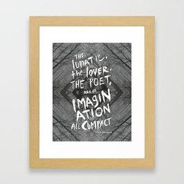 Imagination all Compact Framed Art Print