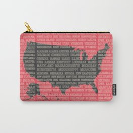 50 States of America Carry-All Pouch