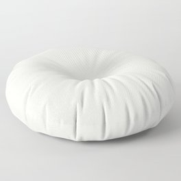 Off-White - Linen - Ivory Solid Color Parable to Pantone Coconut Milk 11-0608 Floor Pillow