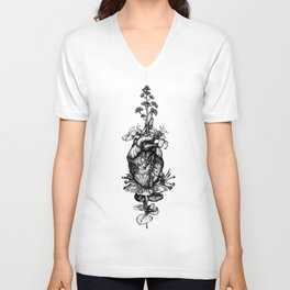 IN BLOOM #03 Unisex V-Neck