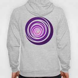 Spinnin Round Purple Hoody