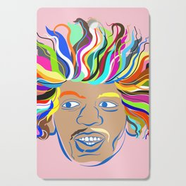 Jimi Hendrix Cutting Board