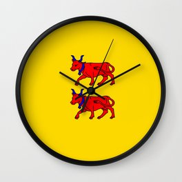 Flag of Béarn Wall Clock