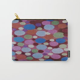 Many colors of Circles Carry-All Pouch