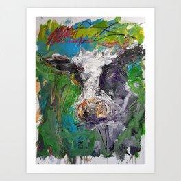 Cow Boe 1 Art Print