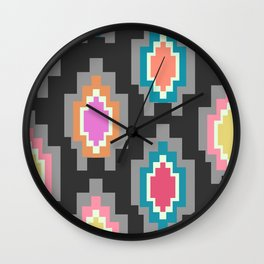 Patchwork decor Wall Clock