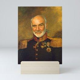 Sir Sean Connery - replaceface Mini Art Print