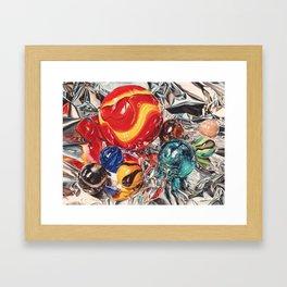 Red Giant Framed Art Print