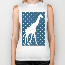 Giraffes Biker Tank