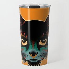 Incarnate Cat Travel Mug