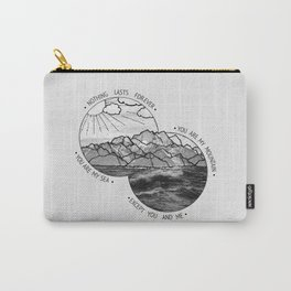 mountains-biffy clyro Carry-All Pouch