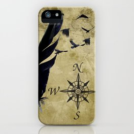 As the Crow Flies A677 iPhone Case