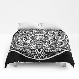 New Year Mandala Inverse Comforters