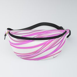 Pink Wave Fanny Pack