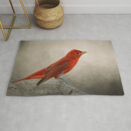 Song of the Summer Tanager 2 - Birds Rug