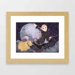 Rhiannon: Witch Cadet Framed Art Print
