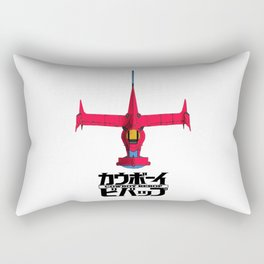 Cowboy Bebop Logo Rectangular Pillow