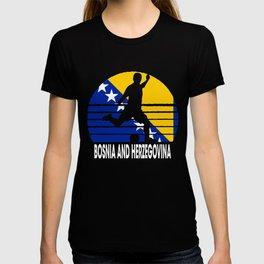 Bosnia And Herzegovina Soccer BIH T-shirt