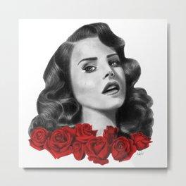 Rosalita- LDR Metal Print