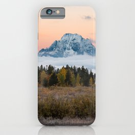 Autumn Sunrise in the Tetons iPhone Case