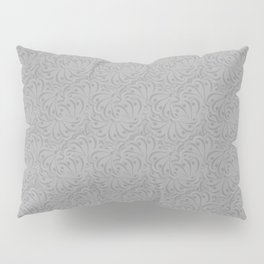 Combo light grey abstract pattern . Pillow Sham