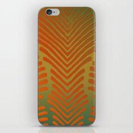 """Paradise Zebras Spines"" iPhone Skin"