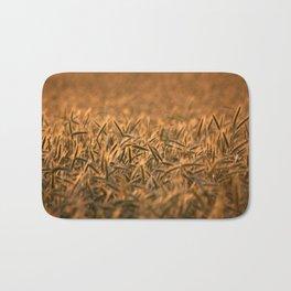 Golden grain | Goldenes Getreide Bath Mat