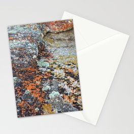 Coloured Rocks Stationery Cards