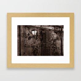 Sicilian Nocturnal Impression - Duplex Framed Art Print