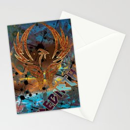 Rebirth of the Phoenix Stationery Cards