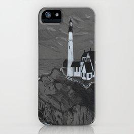 Darrell Merrill Nerd Artist LIGHTHOUSE iPhone Case