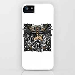 Valhalla is calling Viking T-Shirt iPhone Case