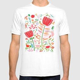 folk floral T-shirt