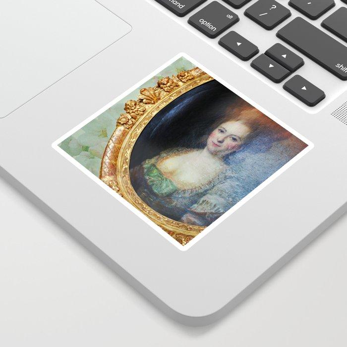 Roccoco Apple blossom Sticker