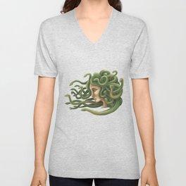 Medusa  Unisex V-Neck