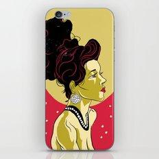 Vintage Girl iPhone & iPod Skin