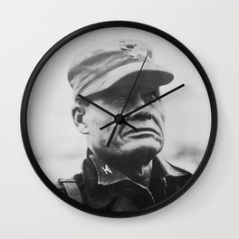 Lewis Chesty Puller Wall Clock