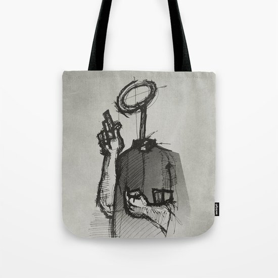 Trust With No Head And Half Finger! Tote Bag