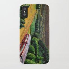 Getaway Train iPhone Case