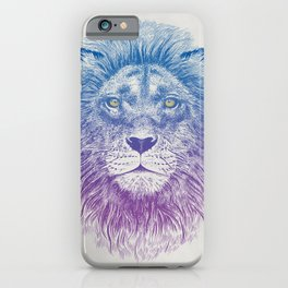Face of a Lion iPhone Case