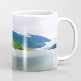Mendenhall Glacier Lake Alaska Coffee Mug