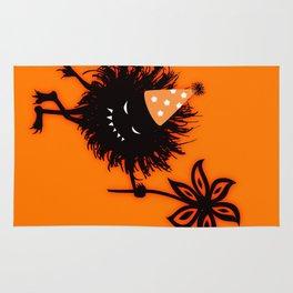 Evil Bug Halloween Party Rug